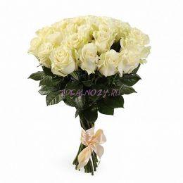 Букет Белый танец 21 роза